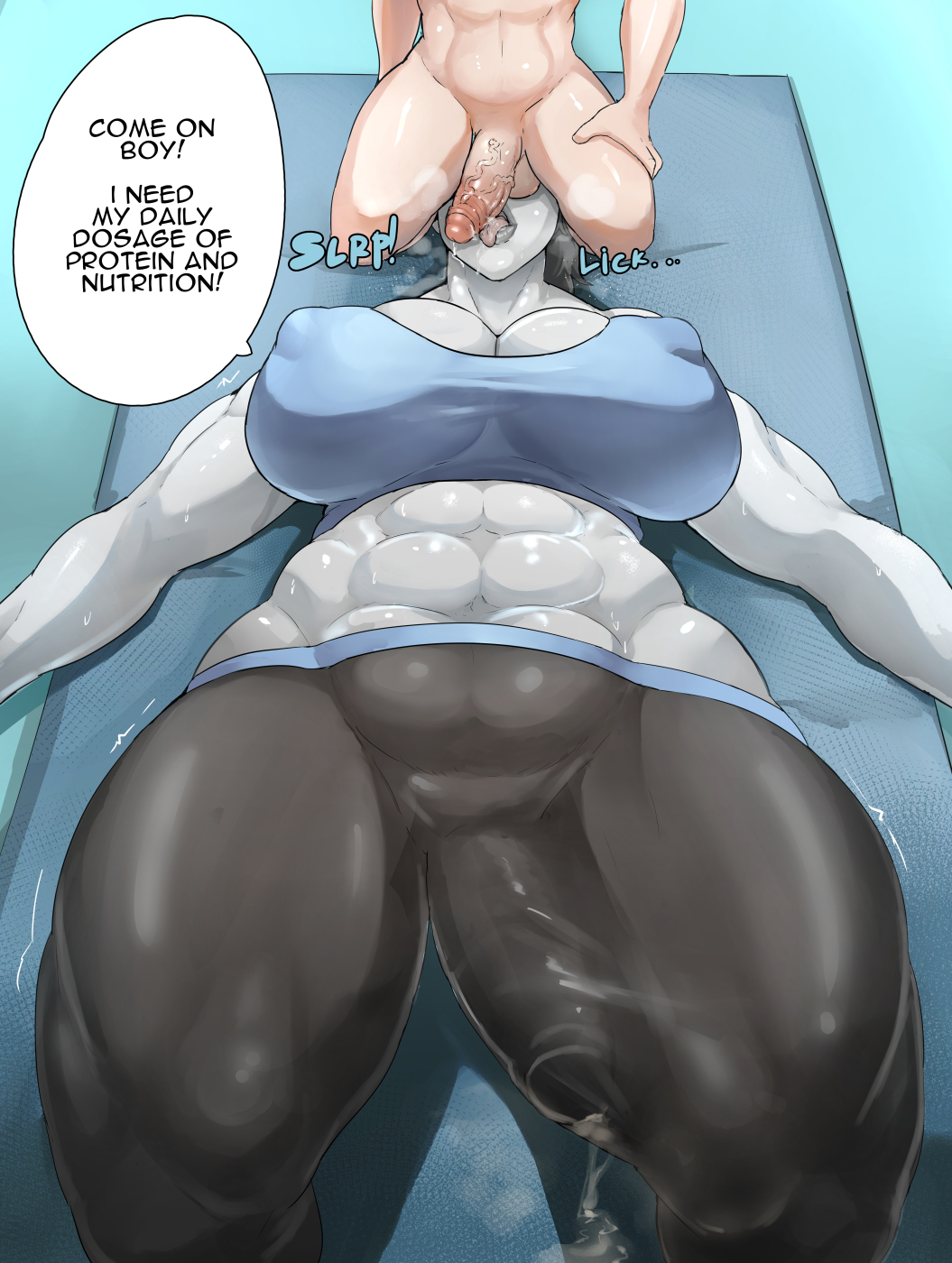 trainer futa wii hentai fit Prince of wales azur lane event