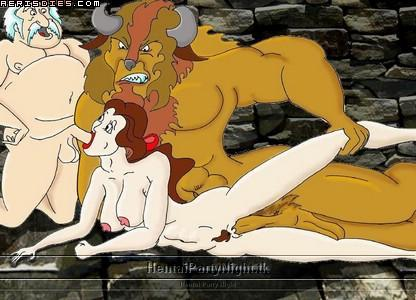 triplets the beauty beast and One day at a time nude