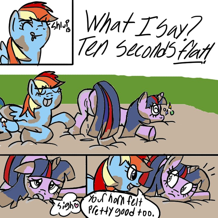 dash rainbow naked little my pony Breath of the wild doujinshi