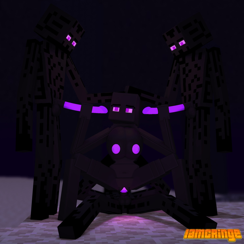 enderman vs iron minecraft golem Karno here there be dragons