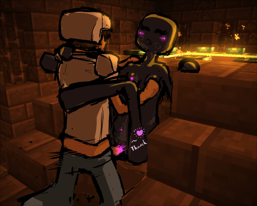 minecraft vs golem iron enderman Is it wrong to pick up girls in a dungeon